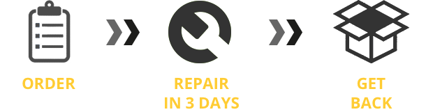 Order, repair in 3 days, get back